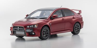 SAMURAI 1/18scale Mitsubishi Lancer Evolution Final Edition Red [No.KSR18019R]