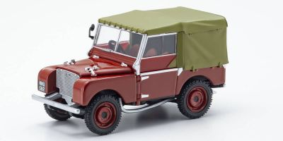 CORGI 1/43scale Land Rover Series 1 80 Poppy Red  [No.CGVA11118]