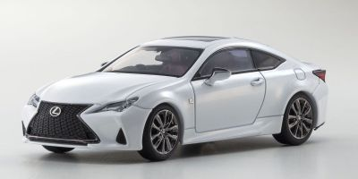 KYOSHO ORIGINAL 1/43scale Lexus RC350 F SPORT White Nova Glass Flake  [No.KS03697W]