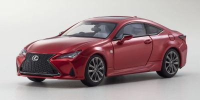 KYOSHO ORIGINAL 1/43scale Lexus RC350 F SPORT Radiant Red Contrast Layering  [No.KS03697RR]