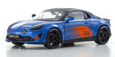SOLIDO 1/18scale Alpine A110 Cup Roundie Barry 2019 (Blue)  [No.S1801605]