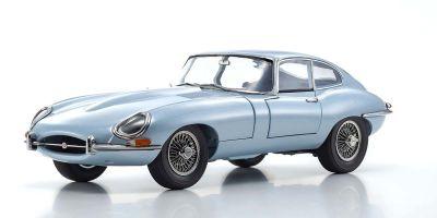 KYOSHO ORIGINAL 1/18scale Jaguar E type (silver blue metallic)  [No.KS08954SBL]