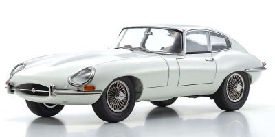 KYOSHO ORIGINAL 1/18scale Jaguar E type (white)  [No.KS08954W]