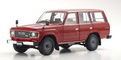 京商 オリジナル 1/18 トヨタ ランドクルーザー 60 レッド KS08956R