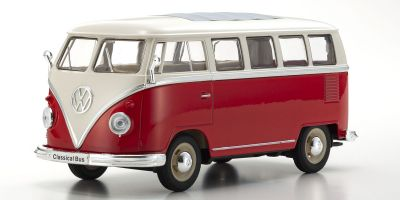 WELLY 1/24scale Volkswagen T1 Bus 1963 RED [No.WE22095R]
