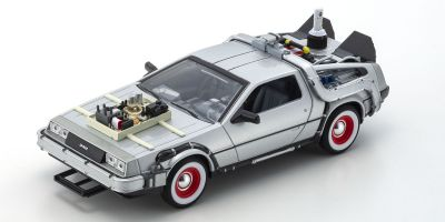 WELLY 1/24scale DeLorean DMC-12 (BACK TO THE FUTURE III)  [No.WE22444W]