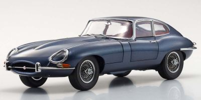KYOSHO ORIGINAL 1/18scale Jaguar E-type (Blue Metallic)  [No.KS08954BL]