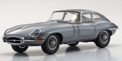 KYOSHO ORIGINAL 1/18scale Jaguar E-type (Gun Metallic)  [No.KS08954GM]