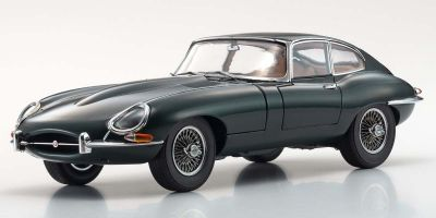 KYOSHO ORIGINAL 1/18scale Jaguar E-type (Green)  [No.KS08954G]