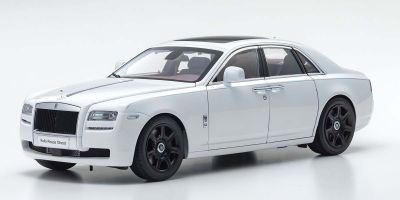 KYOSHO ORIGINAL 1/18scale Rolls-Royce Ghost (Arctic White)  [No.KS08802AW]