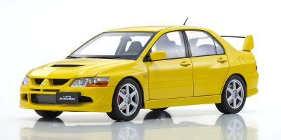 Super A 1/18scale MITSUBISHI Lancer Evolution VIII (Yellow)  [No.KA3202012]