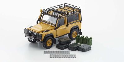 KYOSHO ORIGINAL 1/18scale Land Rover Defender 90 (Yellow)  [No.KS08901CT]