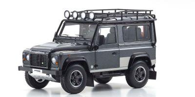 KYOSHO ORIGINAL 1/18scale Land Rover Defender 90 (Gray)  [No.KS08901TR]