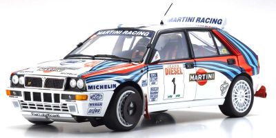 京商 オリジナル 1/18 ランチア デルタ HF インテグラーレ 1992 サンレモ #1 KS08348D