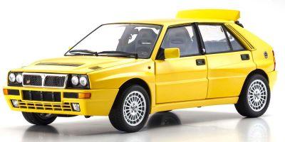 京商 オリジナル 1/18 ランチア デルタ HF インテグラーレ Evo2 ジアラ イエロー KS08343Y