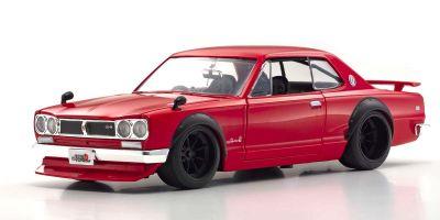 JADA TOYS 1/24 1971 ニッサン スカイライン 2000 GT-R レッド JADA30002GR