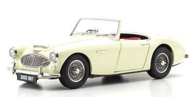 KYOSHO ORIGINAL 1/18scale Austin Healey 3000 (English White)  [No.KS08149EW]