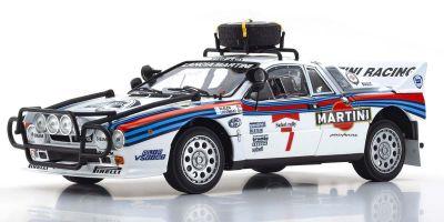KYOSHO ORIGINAL 1/18scale Lancia Rally 037 1984 Safari # 7  [No.KS08306D]