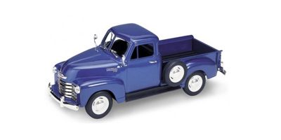 WELLY 1/24scale Chevrolet 3100 pick-up truck 1953 Blue  [No.WE22087BL]