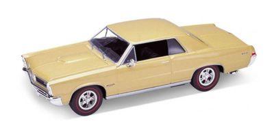 WELLY 1/24scale PONTIAC GTO 1965 (Light Gold)  [No.WE22092LG]