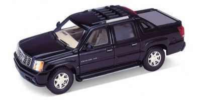 WELLY 1/24scale Cadillac Escalade EXT 2002  Black   [No.WE22430BK]