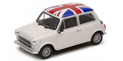 WELLY 1/24scale Mini Cooper 1300 (Ivory / Union Jack)  [No.WE22496UK]
