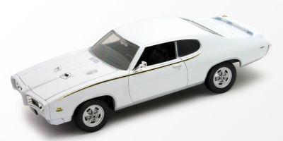 WELLY 1/24scale 1969 PONTIAC GTO  White   [No.WE22501W]