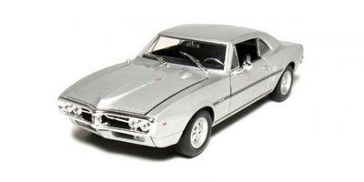 WELLY 1/24scale Pontiac Firebird 1967 Silver [No.WE22502S]