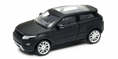 WELLY 1/24scale Land Rover Range Rover EVOQUE Matte Black  [No.WE24021MBK]