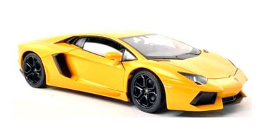 WELLY 1/24scale Lamborghini Aventador LP700-4 Yellow  [No.WE24033Y]