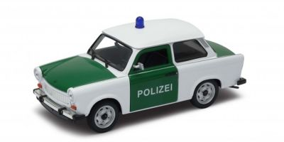 WELLY 1/24scale Trabant 601 Police car (POLIZEI) Green / White [No.WE24037PC]