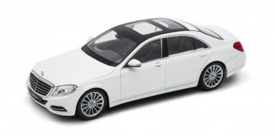 WELLY 1/24scale Mercedes-Benz S-CLASS White [No.WE24051W]