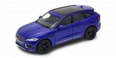 WELLY 1/24scale Jaguar F-PACE Blue  [No.WE24070BL]