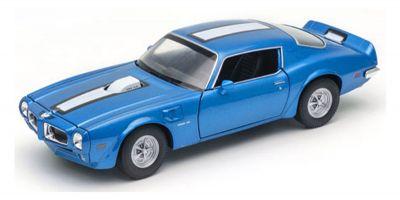 WELLY 1/24scale Pontiac Fire Bird Trans Am 1972 Blue  [No.WE24075BL]