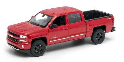 WELLY 1/24scale Chevrolet Silverado 2017 Red  [No.WE24083R]