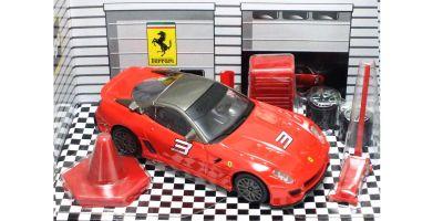 Bburago 1/43scale Ferrari  599xx Red [No.28-31109R]