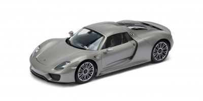 WELLY 1/18scale Porsche 918 Spider Hard Top Silver  [No.WE18051HS]
