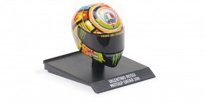 MINICHAMPS 1/10scale AGV Helmet Valentino Rossi Moto GP Qatar 2011  [No.315110056]