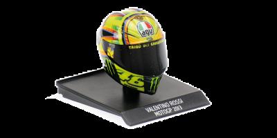 MINICHAMPS 1/10scale AGV Helmet Valentino Rossi Moto GP 2013  [No.315130046]