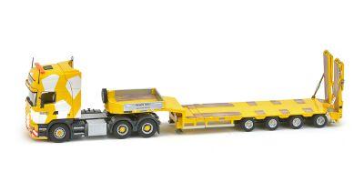 "IMC Models 1/50scale Scania R4 top line 6 × 4 Goldhofer 4-axis semi low loader ""Keller + Hess""  [No.IMC320002]"