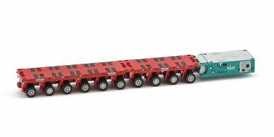 """IMC Models 1/50scale Scania R6 top line 8 × 4 & Goldhofer 3 axle low loader """"KARNER""""  [No.IMC330003]"""