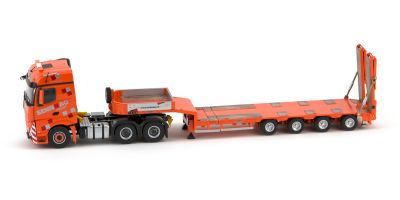 "IMC Models 1/50scale Mercedes-Benz Actros 2 big space 6×4 & Goldhofer 4 axle semi low loader ""SENN AG""  [No.IMC330011]"