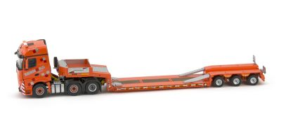 "IMC Models 1/50scale Mercedes-Benz Actros 2 big space 6×2 & Goldhofer 3 axle low loader ""SENN AG""  [No.IMC330012]"