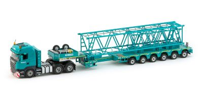 IMC Models 1/50scale Scania R500 High Line 6 × 4 + Nooteboom Multi-PX6 Axle Semi Low Loader  [No.IMC330017]