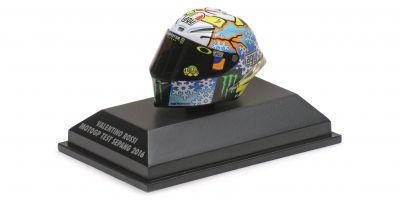 MINICHAMPS 1/8scale AGV HELMET – VALENTINO ROSSI – TEST MOTOGP SEPANG 2016  [No.398160076]