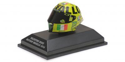 MINICHAMPS 1/8scale AGV HELMET – VALENTINO ROSSI – MOTOGP MUGELLO 2016  [No.398160086]