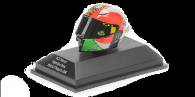 MINICHAMPS 1/8scale AGV Helmet Rossi MotoGP Mugello 2018  [No.399180086]