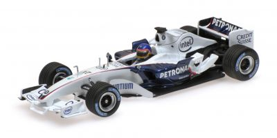 MINICHAMPS 1/43scale SAUBER BMW C24B – JACQUES VILLENEUVE – F1 TEST VALENCIA FEBRUARY 2006  [No.400060903]