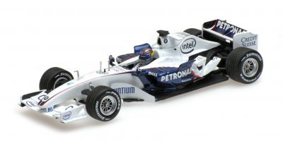 MINICHAMPS 1/43scale SAUBER BMW C24B – ALESSANDRO ZANARDI – F1 TEST VALENCIA NOVEMBER 25TH 2006  [No.400060904]