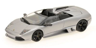 MINICHAMPS 1/43scale LAMBORGHINI MURCIELAGO LP 640 ROADSTER – 2007 – GREY METALLIC  [No.400103931]